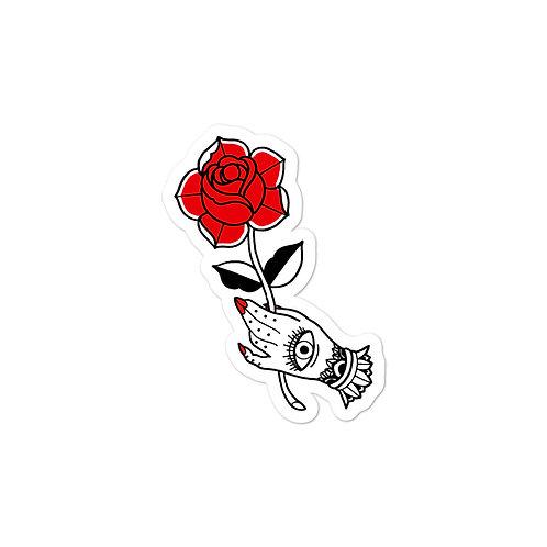 Rose Hand Sticker
