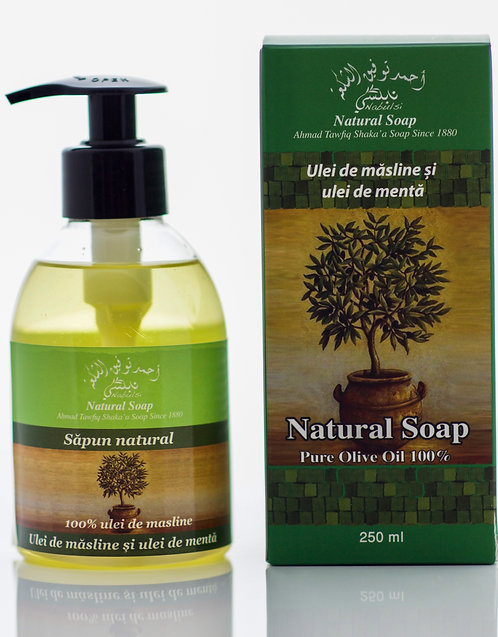 Nabulsi Sapun lichid natural Menta
