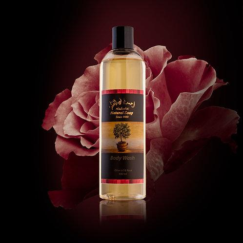 Gel de dus natural Trandafir Nabulsi