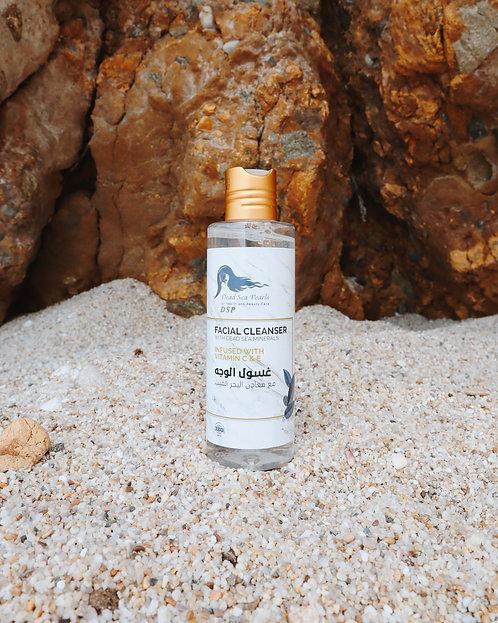 Gel de curatare fata cu minerale