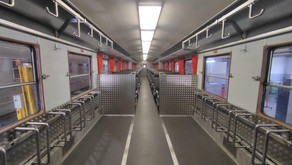 More bicycles inside trains !