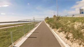 New bike lane at Figueira-da-Foz