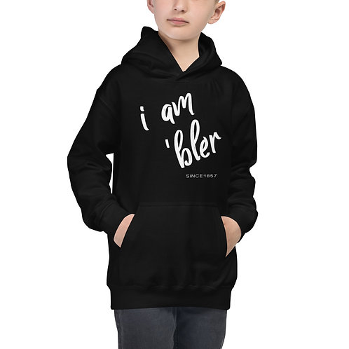 I am 'bler Youth Hoodie