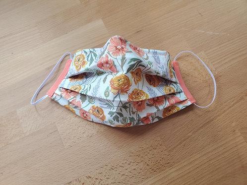 Fabric Mask, Ranunculus