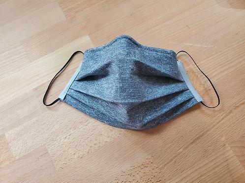 Fabric Mask, Gray Heather