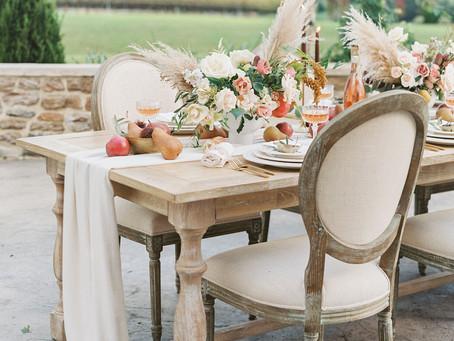 Autumn Winery Wedding, Folino Estate
