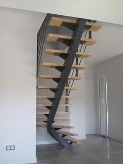Ensemble escalier-garde-corps