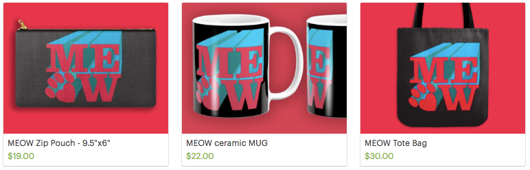 Meow Designs from Olive and Rye