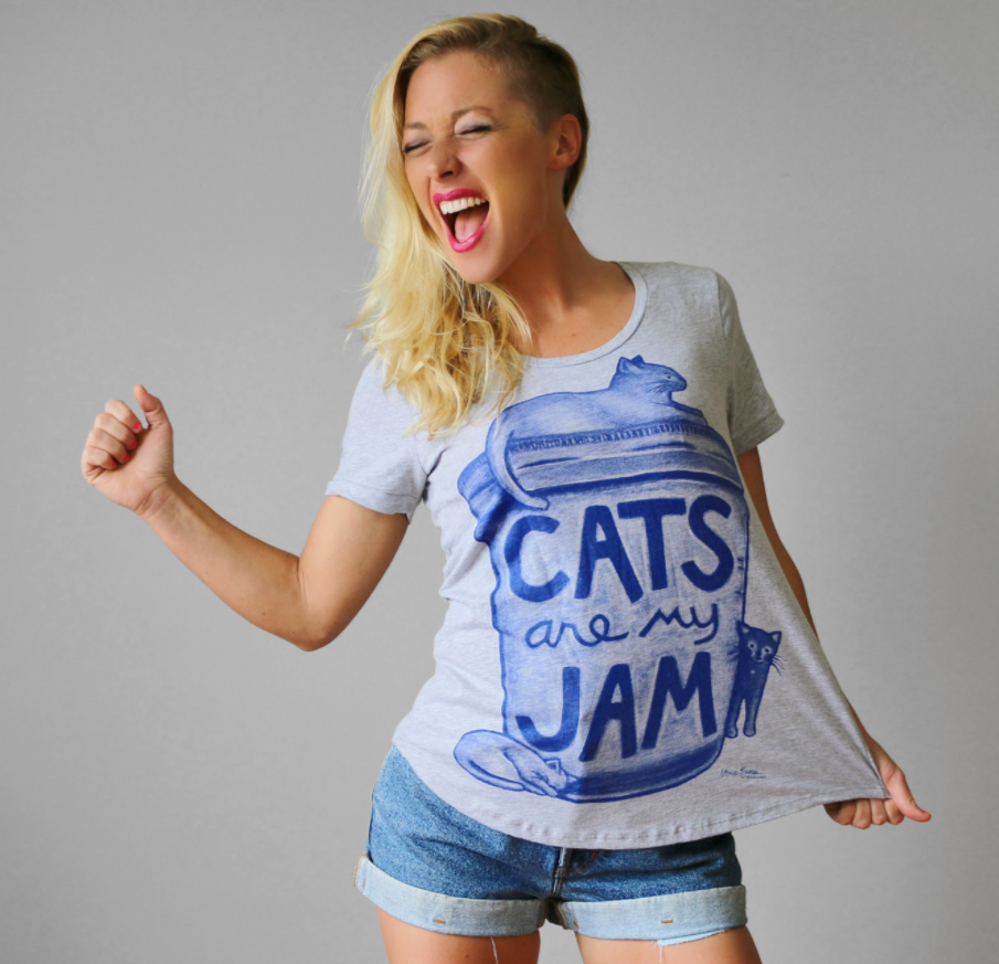 Cats are My Jam - Xenotees