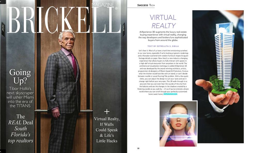 INTERVIEW - Brickell Magazine interview ArX Solutions
