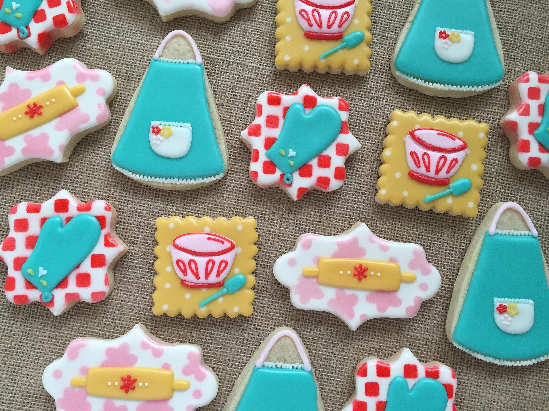 Baby Shower Cookies Bridal Shower Cookies