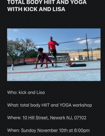 TOTAL BODY HIIT AND YOGA WORKSHOP