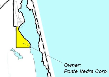 Map of Outpost owned by Ponte Vedra Corp.