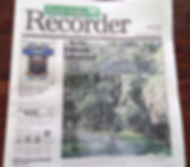 Ponte Vedra Recorder front page Save Guana Now