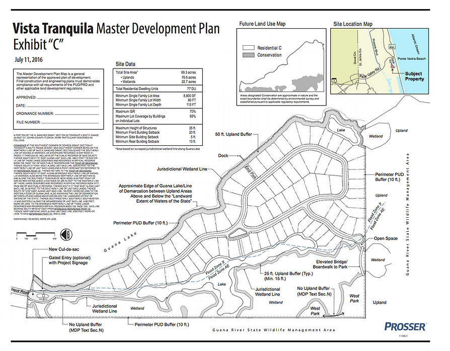 Vista Tranquila Master Development Plan