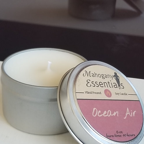 Travel Candle Tin - Eucalyptus Mint