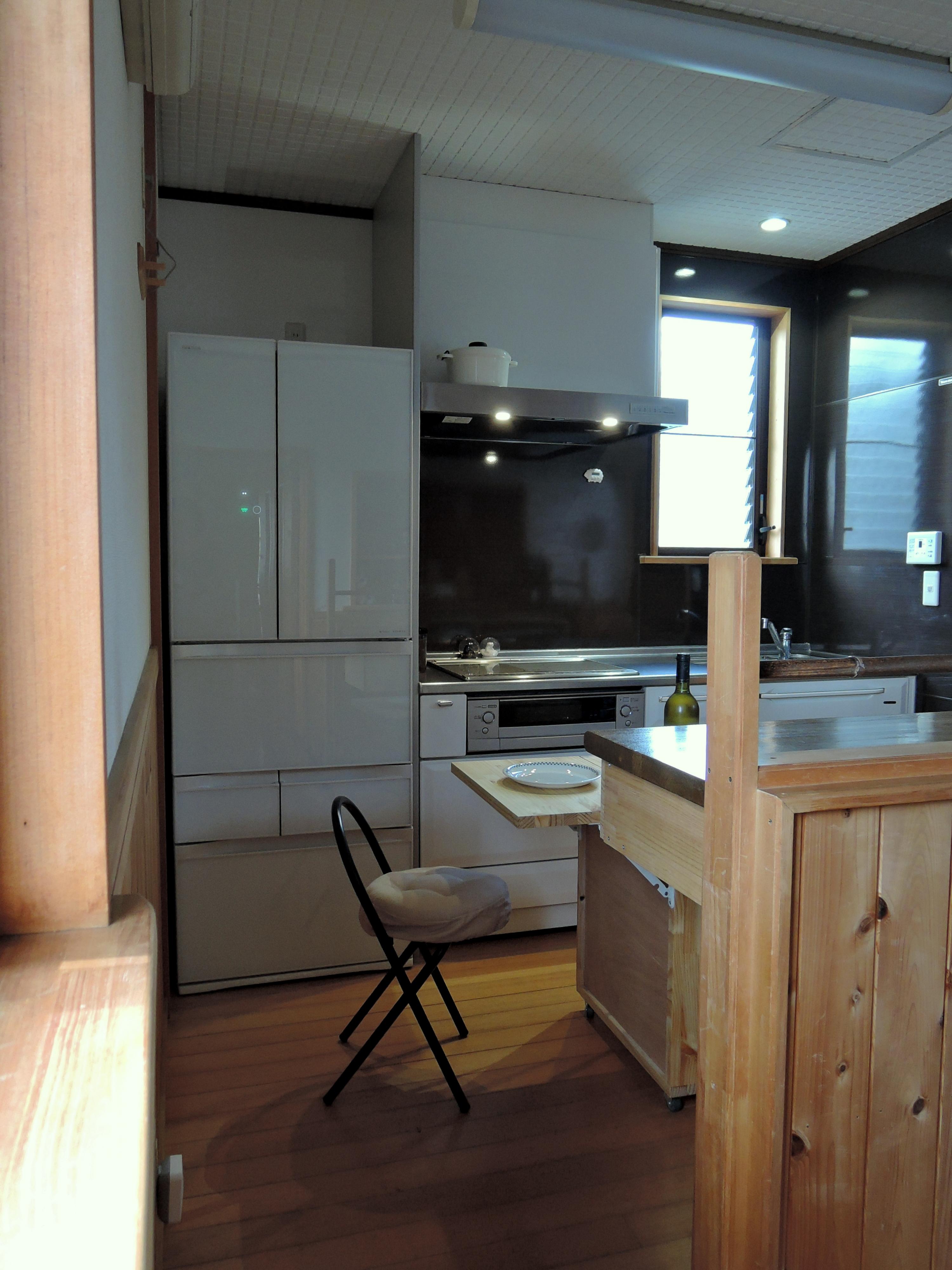小さなキッチンを作りました