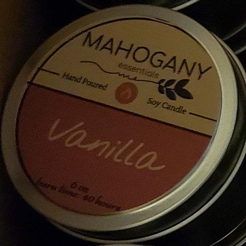 Travel Candle Tin - Vanilla