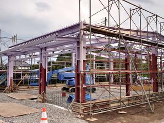農業用倉庫の新築