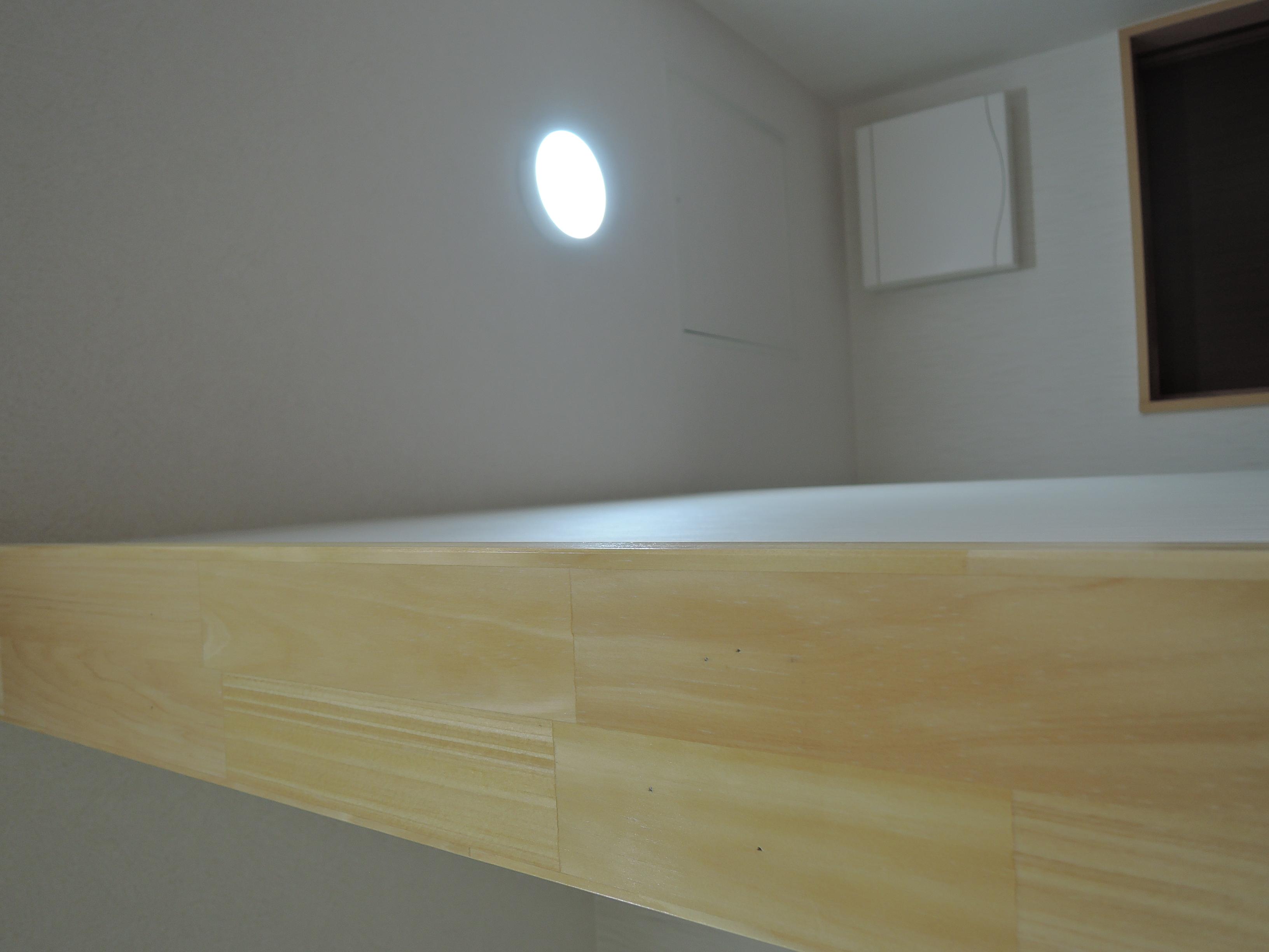 キッチンを仕切る壁