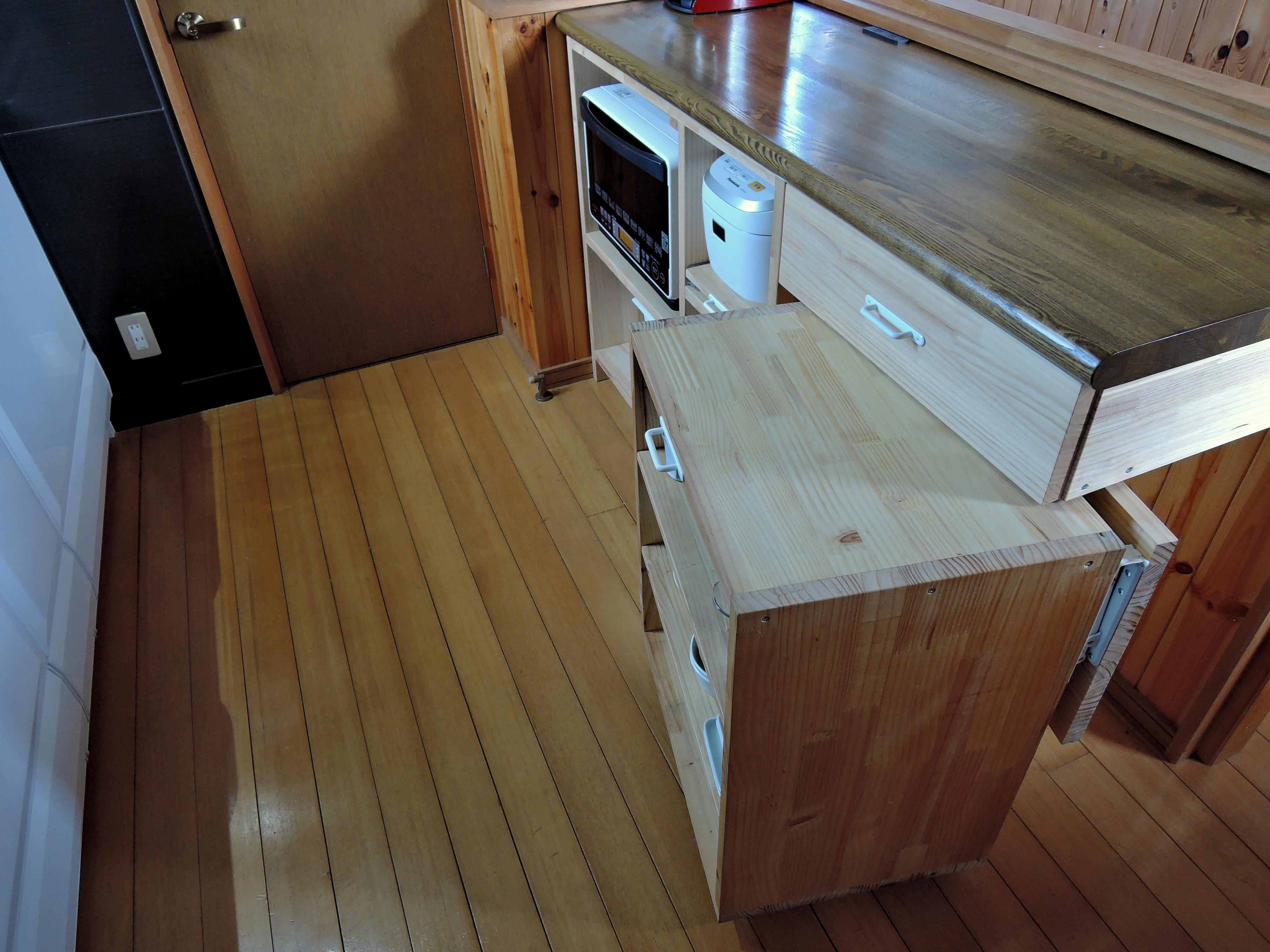 食器棚のもう一つの使い道