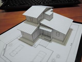 中妻の家模型製作