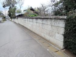 大谷石塀 解体前
