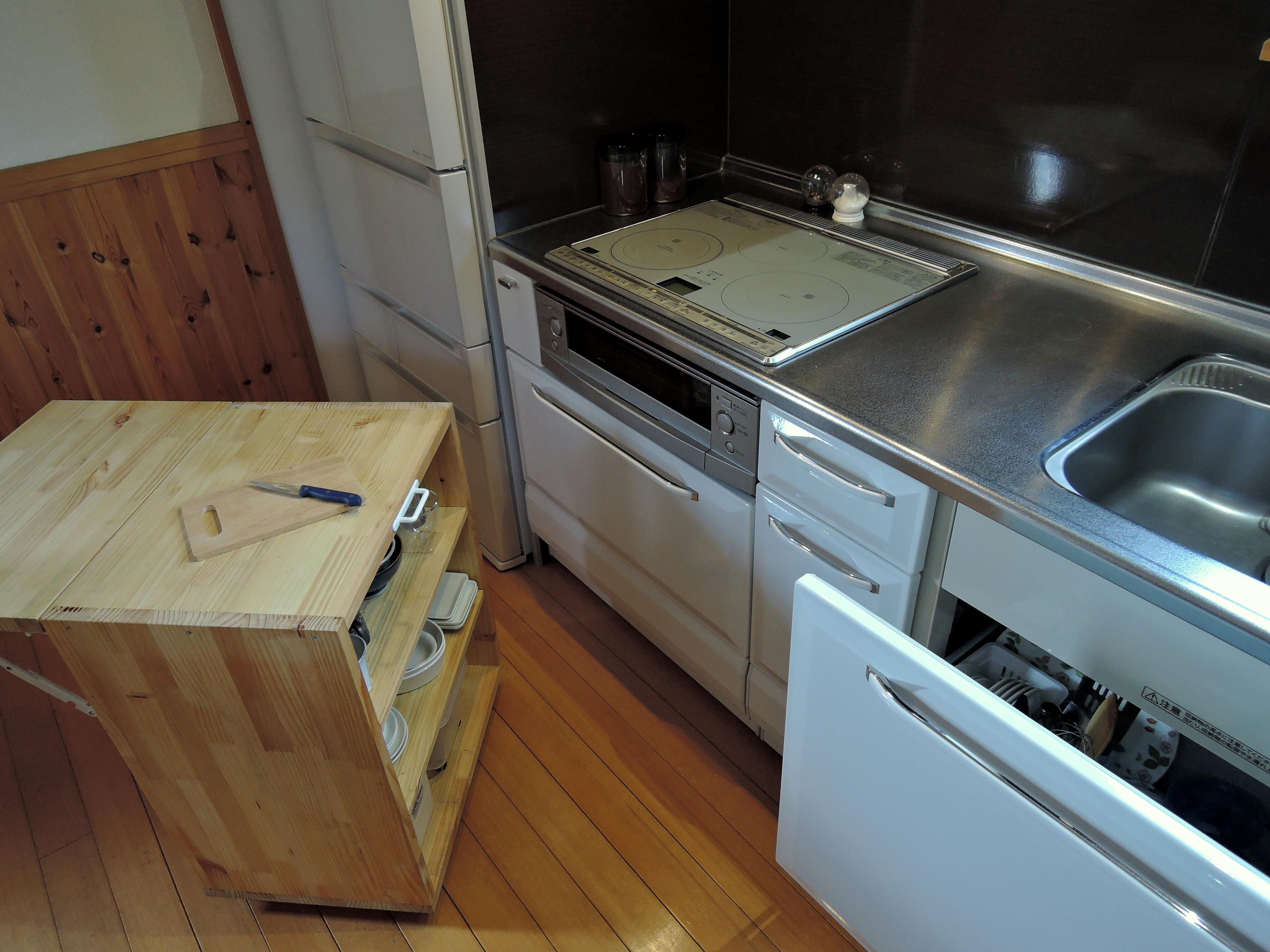 調理台の補助として