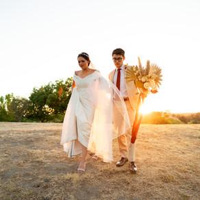 Jo & Phil - Central Valley Bohemian Wedding