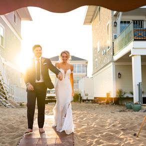 Anthony & Courtney - Plum Island Beach Wedding