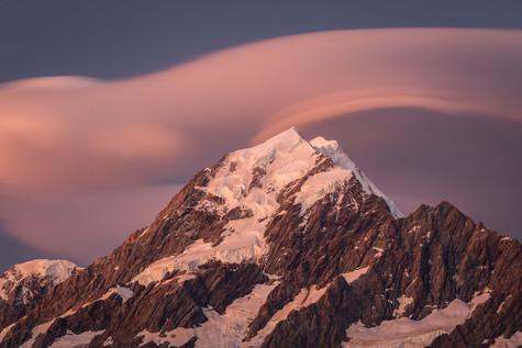 Mount Cook by Virginie Bitterlin