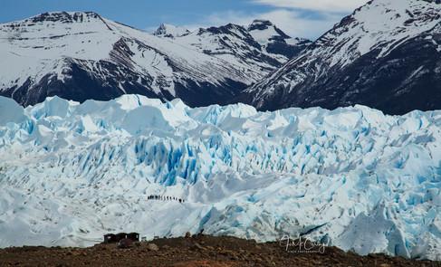 Perito Merino Glacier by Jo MCCarthy