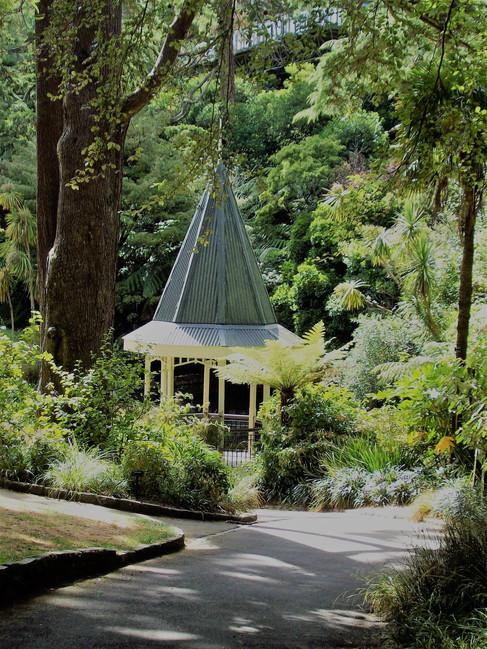 Botanic Garden,Wellington by Margaret Jeune