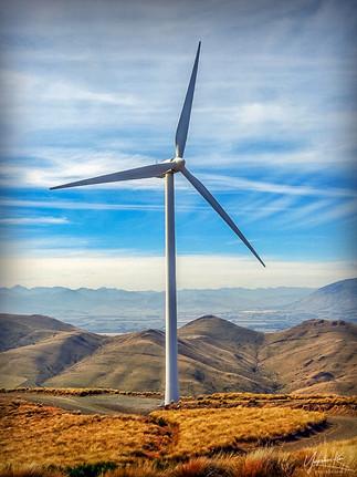 Wind Turbine by Carole Garside