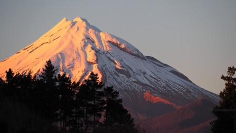 Mount Taranaki by Lynda Newman