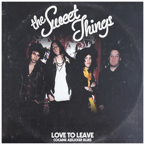 """The Sweet Things """"Love To Leave"""" 7"""""""