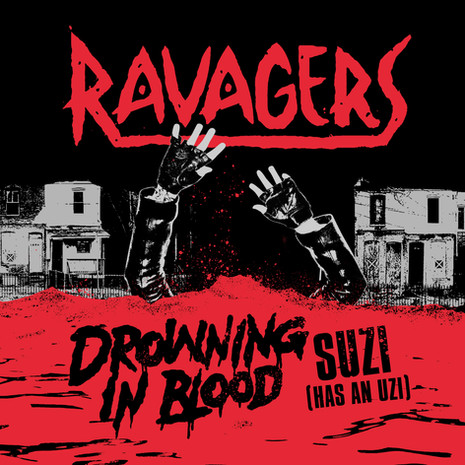 """Ravagers """"Drowning In Blood"""" 7"""""""