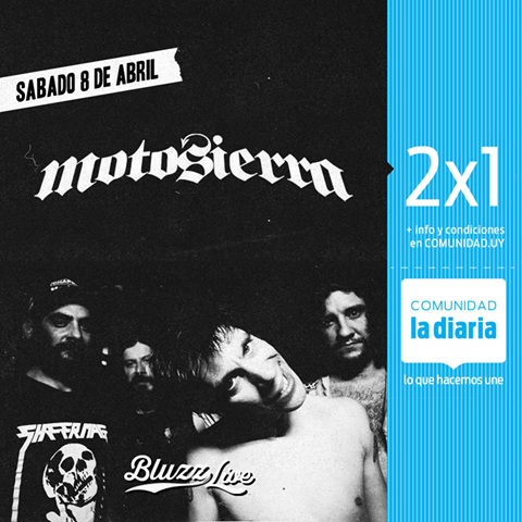 MOTOSIERRA Bluzz Live