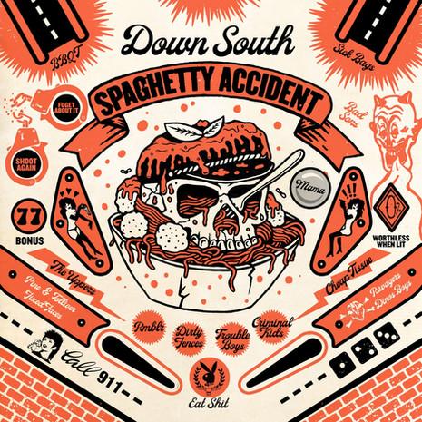 Down South Spaghetty Accident V/A LP