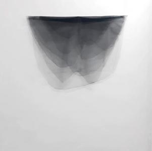 Gota, 2018. Tules, 100 x 80 cm