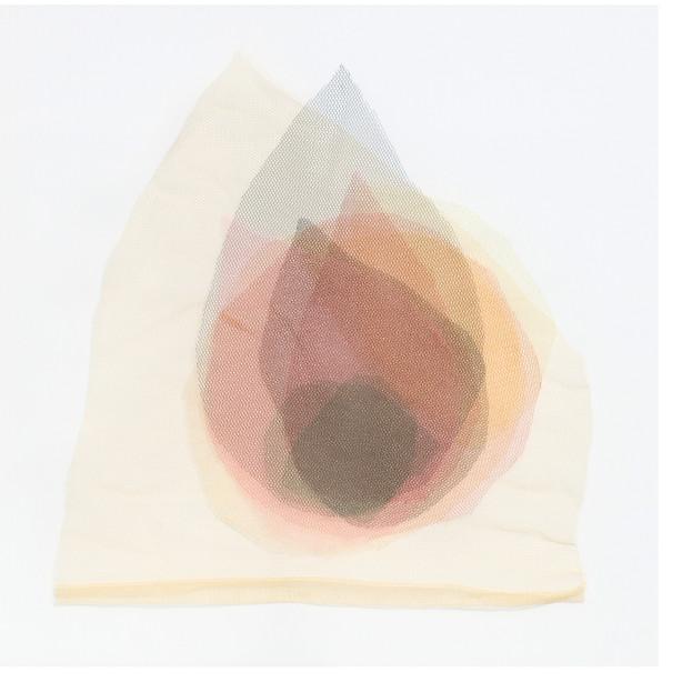 labareda, 2018. Tules, 40 x 40 cm
