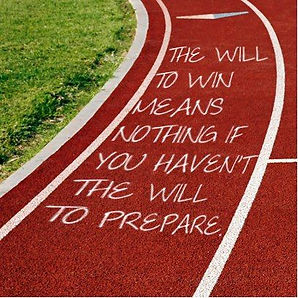 Inspirational Track Quote