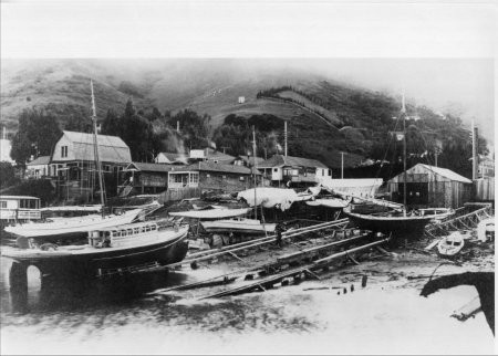 Reliance Boatworks 1910