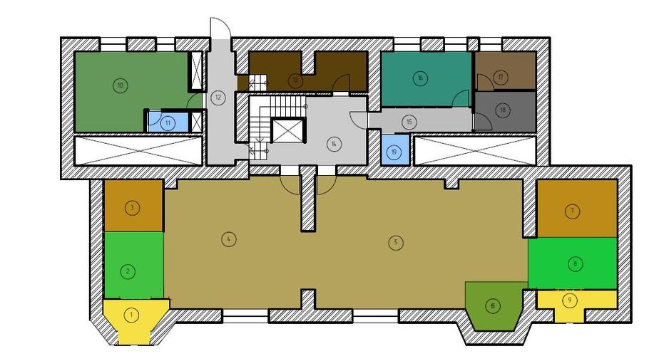 План зонирования