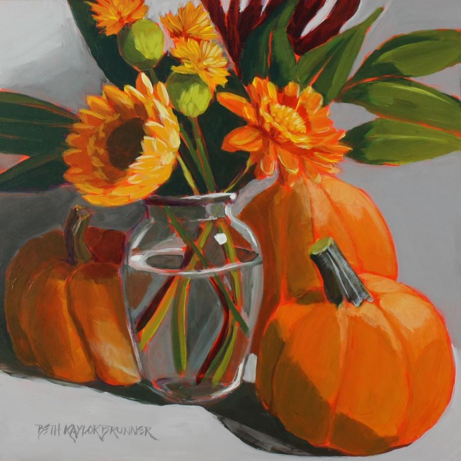 Sunflowers, Saffron & Pumpkins_1