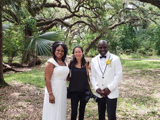 Intimate Wedding at Tree Tops Park in Davie, FL