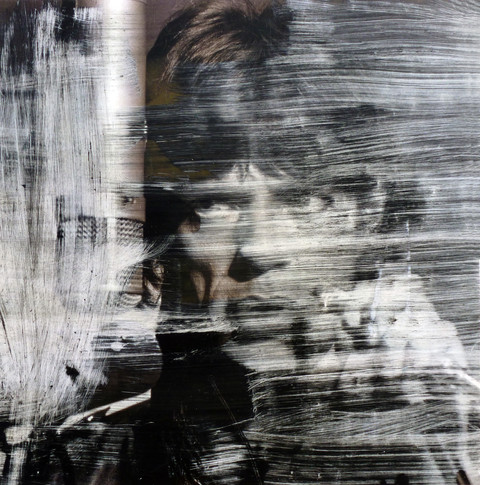 Mick Jagger  Ink dissolution cm 31x30,5 2019
