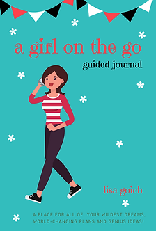 A Girl On The Go Guided Journal - Back C