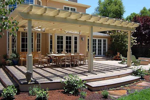 custom arbors, custom patio covers