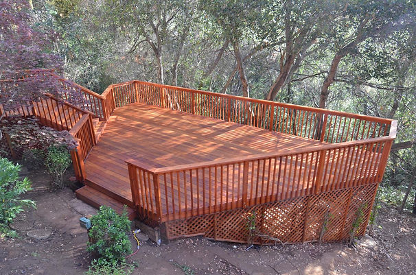 custom deck builders, san jose, los altos, saratoga